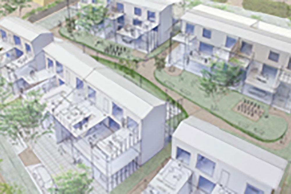 千葉郊外の住宅群 - Houses in CHIBA Suburbia
