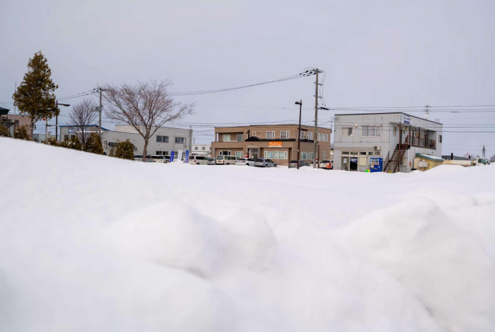 岩見沢、大雪の日は遅刻も認めてもらえます