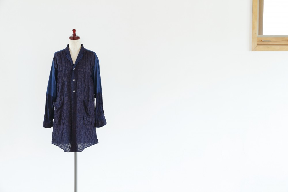 INDIGO LONG JACKET -