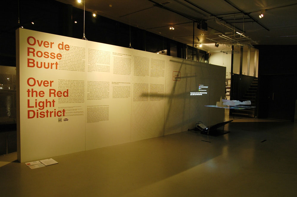 - exhibition. Over the Red Light District at Arcam, Amsterdam  9 December 2011 - 20 January 2012 -  -