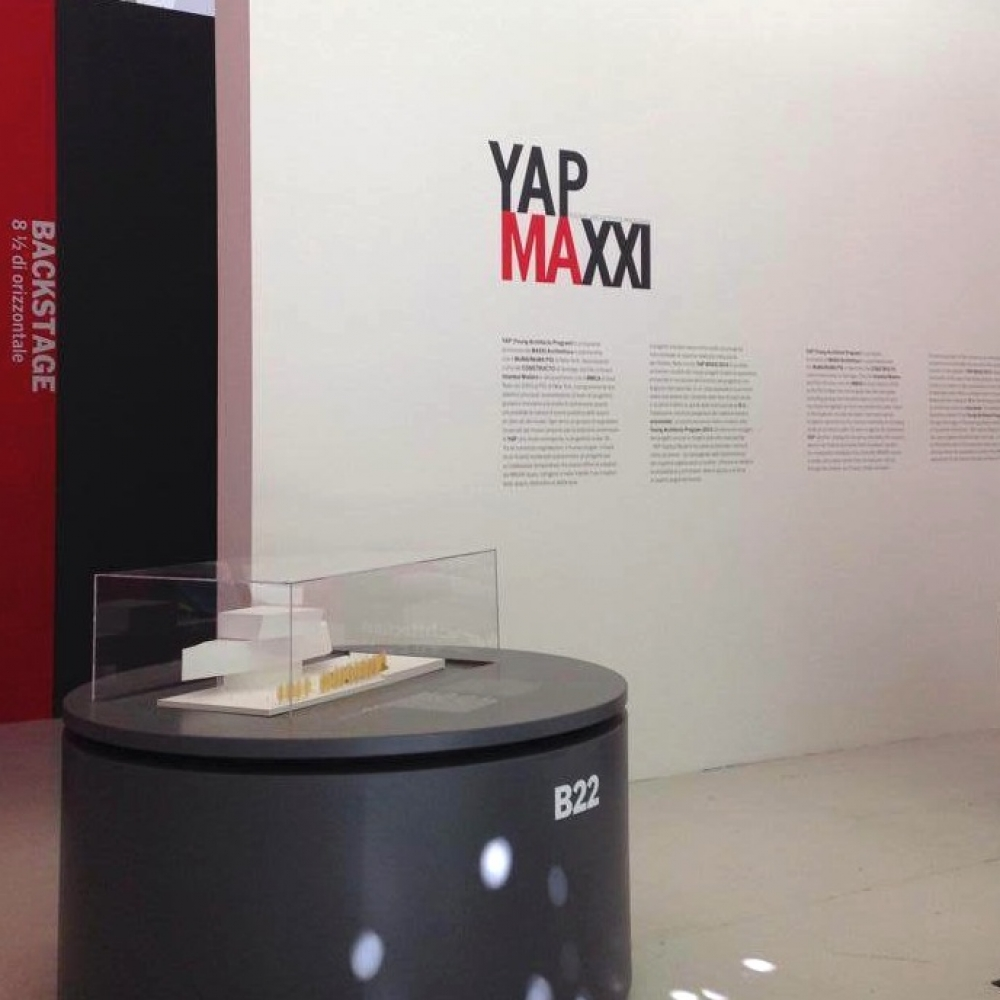 - The proposals of the finalist for YAP MAXXI 2014 have been exhibited at the MAXXI museum, Rome. -  -