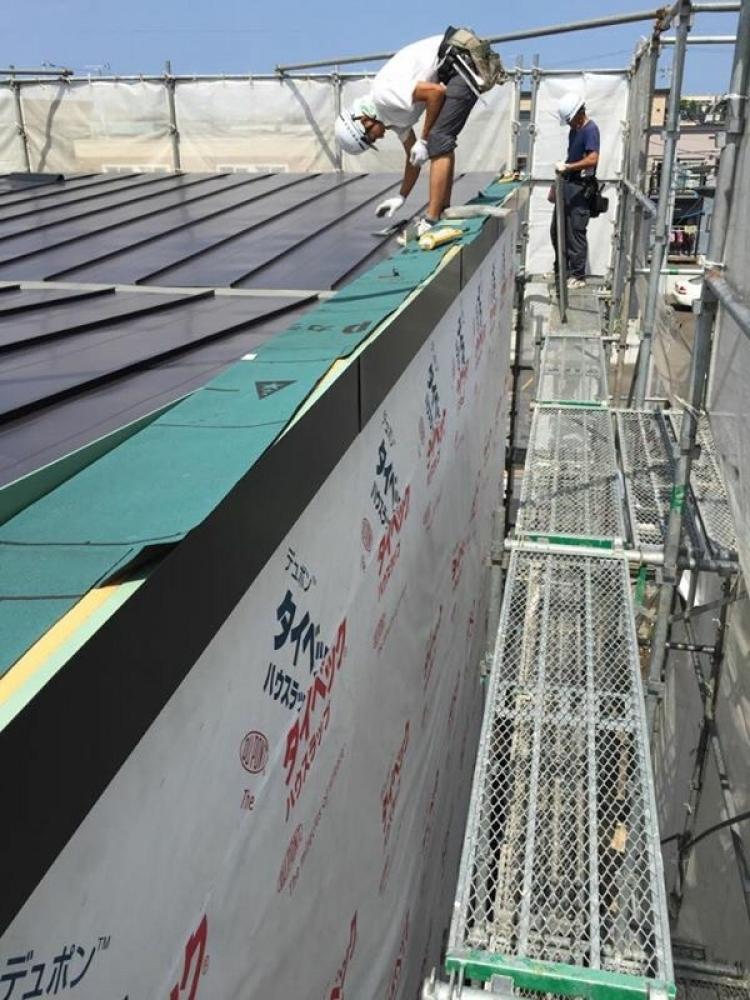 - 屋根板金工事 -  -