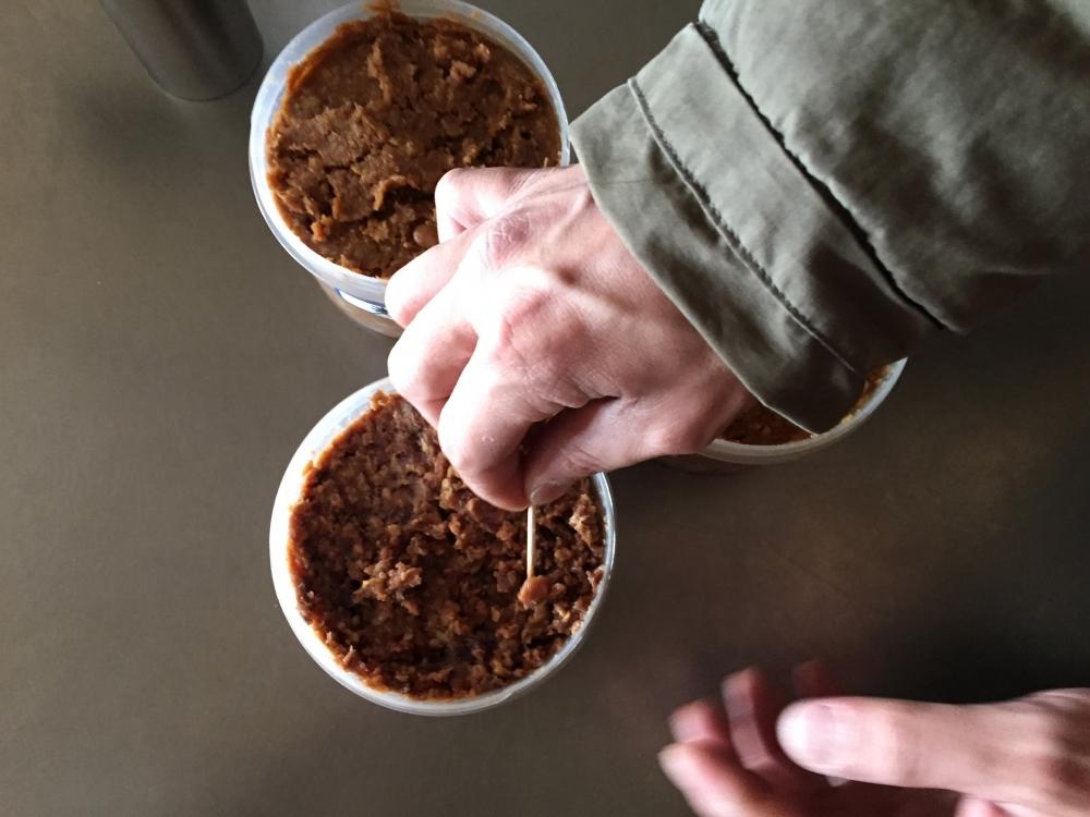 - 蕎麦打ちがご趣味のオーナーさまは、お味噌も自家製で作っていらっしゃいます。本当にびっくりするほどぜんぶ美味しいです。 -  -