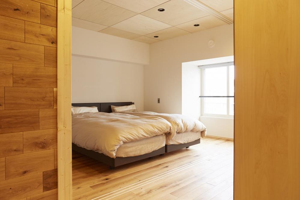 - オープンな状態/就寝スペース -  -