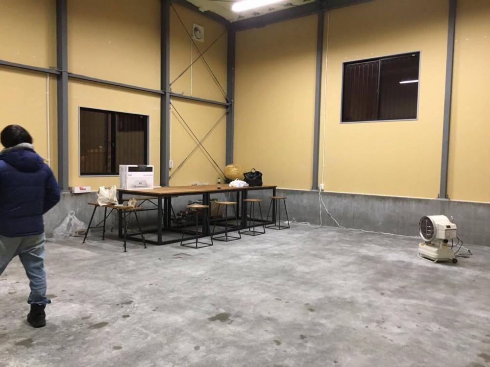 改修前 - 天井高≒5.3mの何もない倉庫 -  -