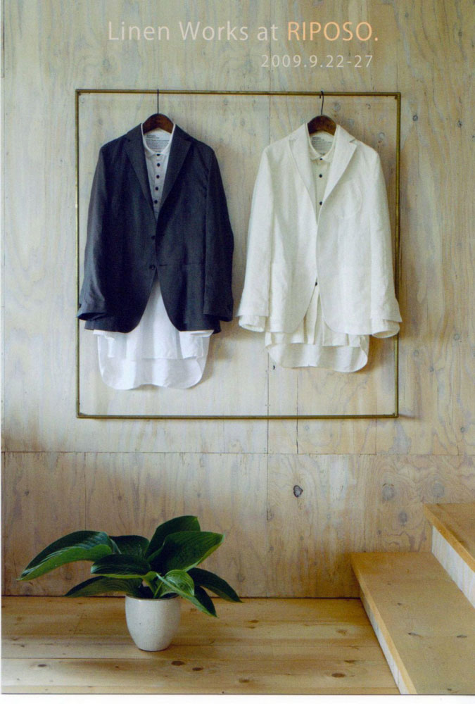 LINEN WORKS at RIPOSO.-CONTINENTAL GALLERY(札幌)- -