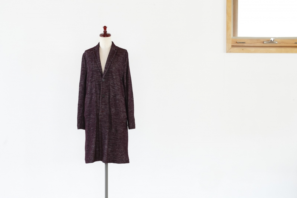 COTTON / WOOL CHESTERFIELD COAT -