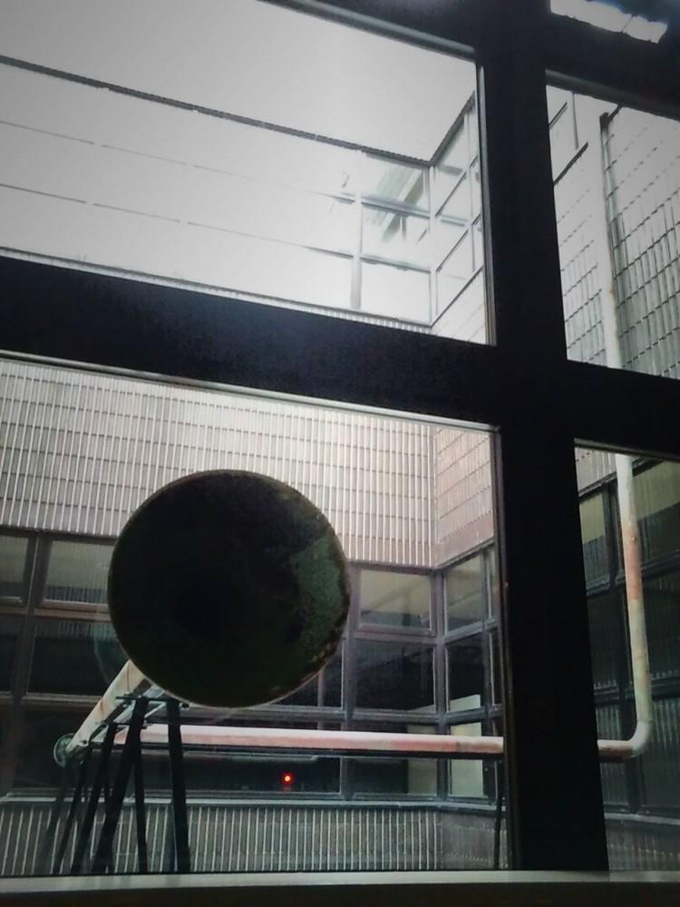苫小牧美術博物館 中庭展示Vol.9 松井紫朗「Channel」 #樽前arty2017連携企画