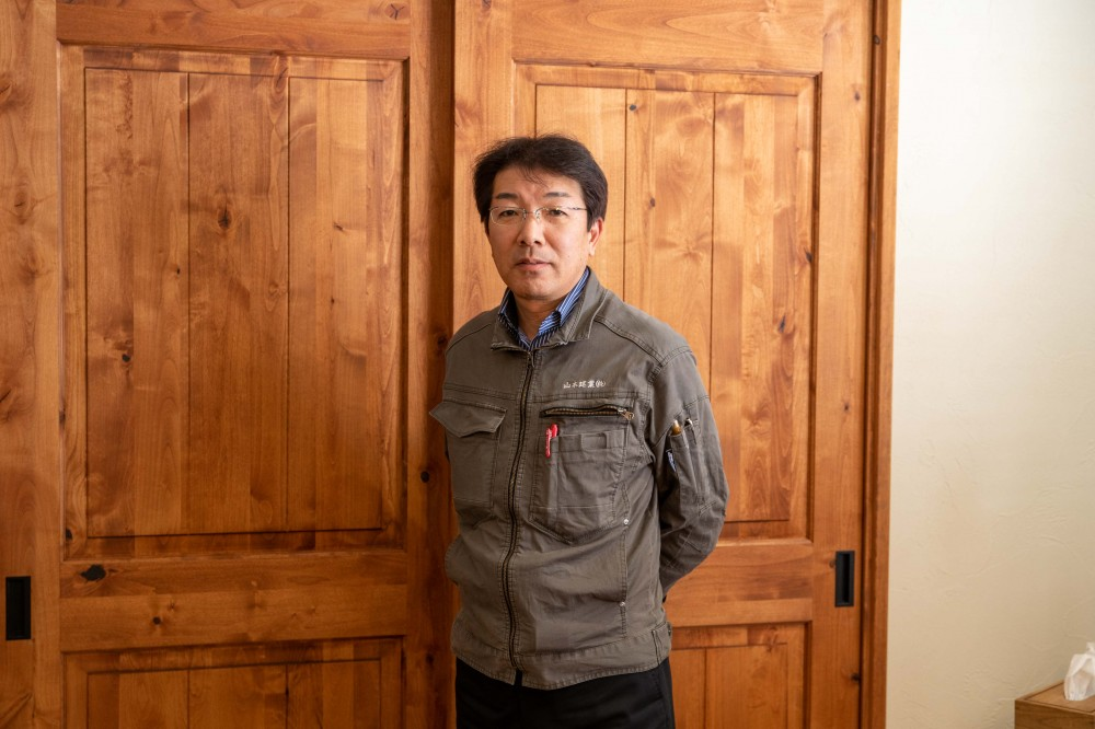 RSTトレーナー、リフォーム事業部の伊藤部長です