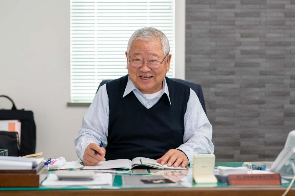 祝、創業41年!山本建業会長の山本豊です