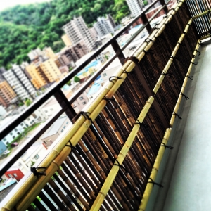 地上12階の建仁寺垣 -