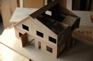 1/25の模型です。  photo by Kai Takihara