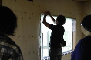 窓はこうやって、、、