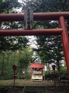 湖だけではなく、近くには支笏湖神社もあります。