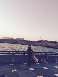 この日は風が強く寒かったです。