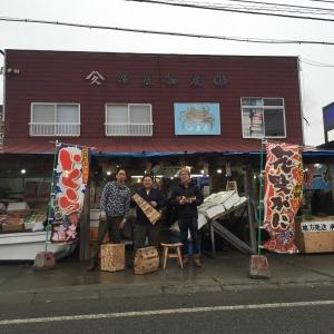 お店の前で記念撮影!お忙しいところありがとうございました。