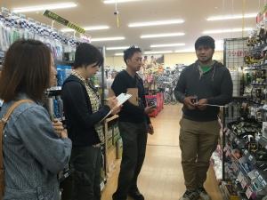 こちらはメジャーコーナーで。重要です。  photo Mihoko Tsujita
