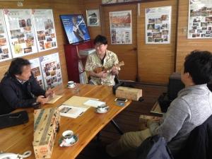 二日目。また釧路に戻って丸善木材さんへ。