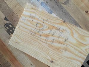 とものいえづくり壁・床貼りクラス#1レポート