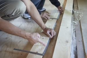 とものいえづくり壁・床貼りクラス#3レポート