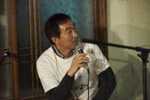 釧路よりきていただいた、吉岡製函の羽田野社長。
