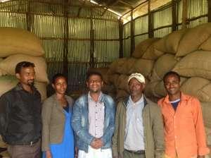 エチオピア・ジンマ・ナノ・チャラステーションの方々 -