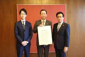 札幌市の秋元市長より今年も感謝状をいただきました。 -
