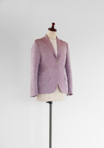 SILK JACKET - RIPOSO. SILK JACKET (SILK/100 : IMAHATABE=product by 小倉商店)
