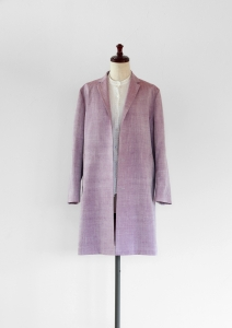COAT for PRIMAVERA - RIPOSO. SILK COAT (SILK/100 : IMAHATABE=product by 小倉商店)