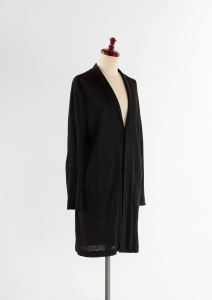 LINEN KNIT COAT - RIPOSO. LINEN KNIT COAT  (LINEN/100)