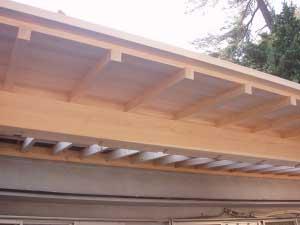 軒先の納まり Details on eaves
