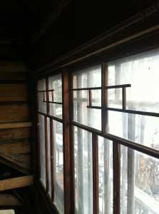 さて、次は二階の天井と、壁か。