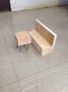 テーブルとソファ