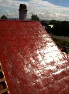 屋根終了。