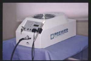 パワーホワイトニング用のアルゴンレーザー